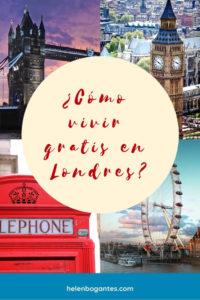 Cómo vivir gratis en Londres?
