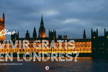 ¿Cómo vivir gratis en Londres?