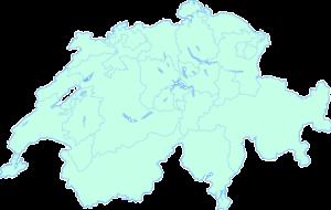 Suiza -Mapa