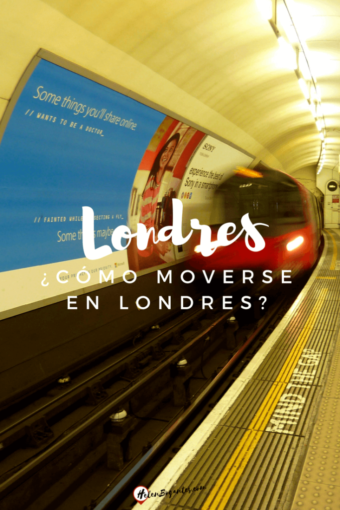 Cómo moverse en Londres?