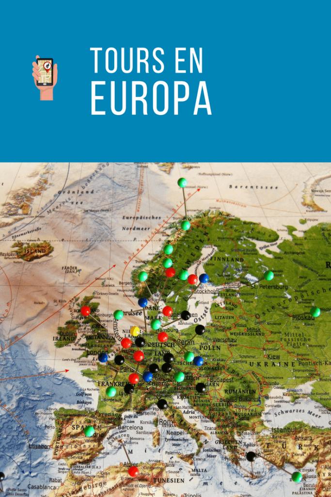 Tours en Europa