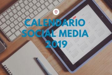 Calendario Social Media