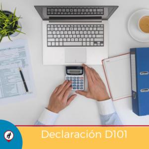 Declaración D101
