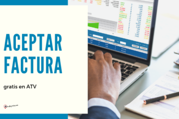 Aceptar factura en ATV