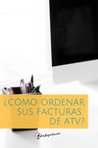 Ordene sus facturas de ATV Ministerio de Hacienda Costa Rica