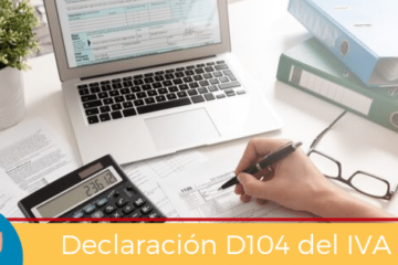 Declaración D104 IVA
