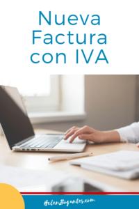 Nueva Factura con IVA en Costa Rica
