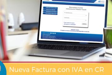 Nueva factura con IVA en CR