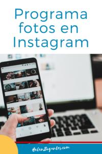 Programa fotos en Instagram
