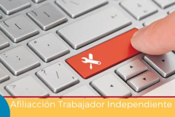 Afiliación de Trabajador Independiente