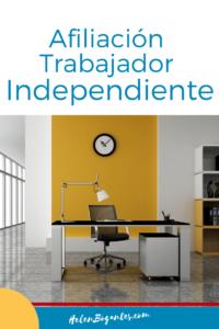 Afiliación Trabajador Independiente