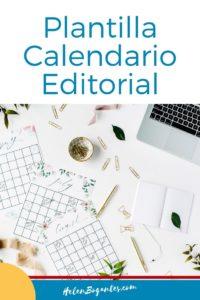 Plantilla Calendario Editorial